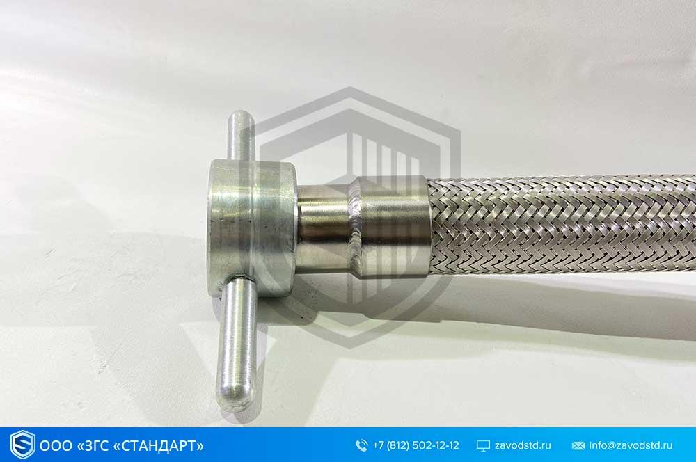 ГСМ. Металлорукав для СУГ.  Присоединительная арматура для слива-налива сжиженных углеводородов 4