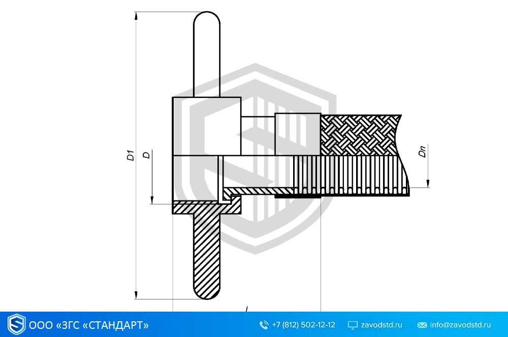 ГСМ. Металлорукав для СУГ.  Присоединительная арматура для слива-налива сжиженных углеводородов 1