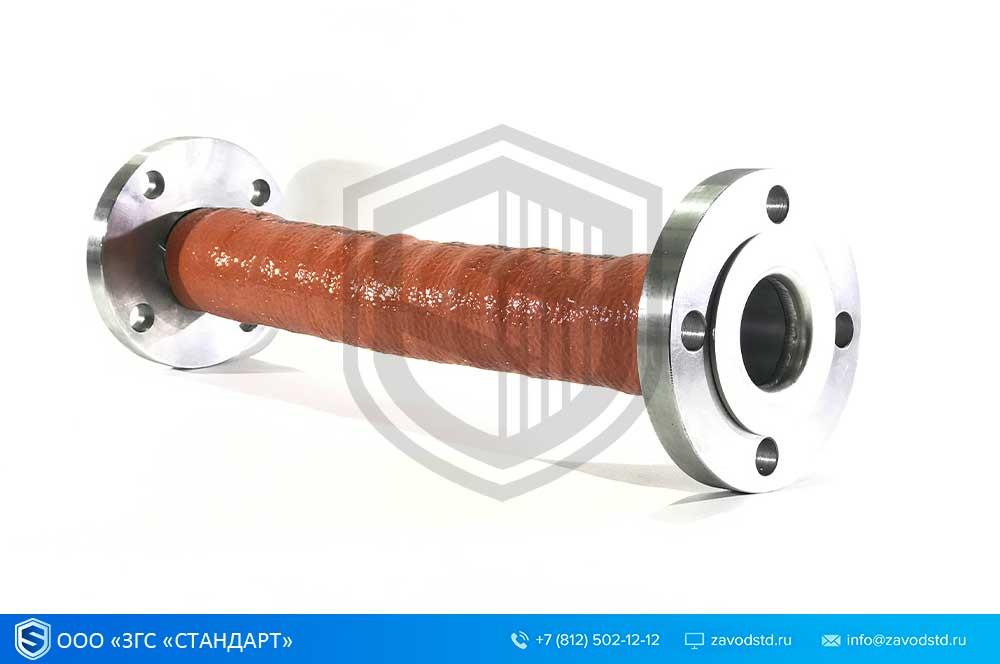 Металлорукава высокого давления из нержавеющей стали в термозащите