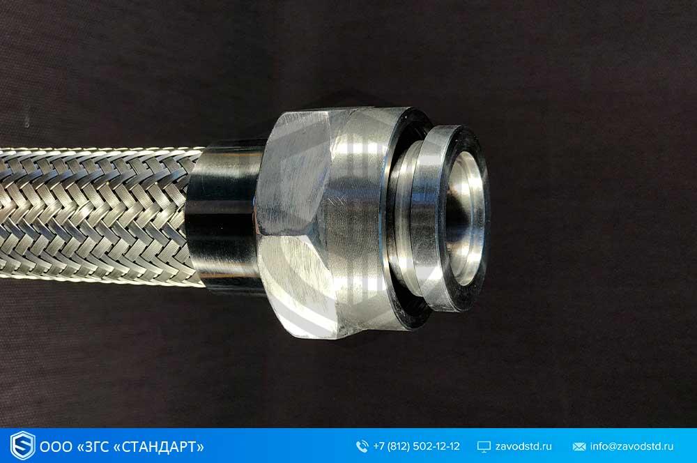 Металлорукав с вибровставкой ВВМ-ВВГ